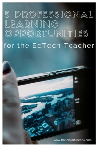 5 Professional Learning Opportunities